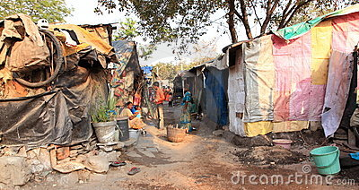 India's Slums Editorial Image