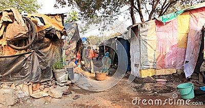 India s Slums Editorial Image