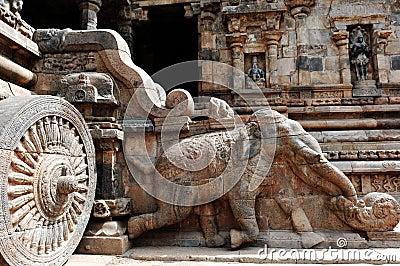 India South-India: Darasuram temple