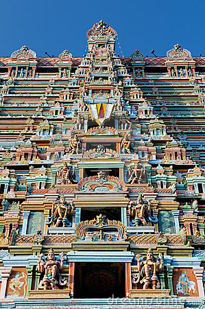 India - Srirangam Temple