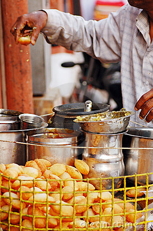 Free India Street Food Stock Photo - 7455650