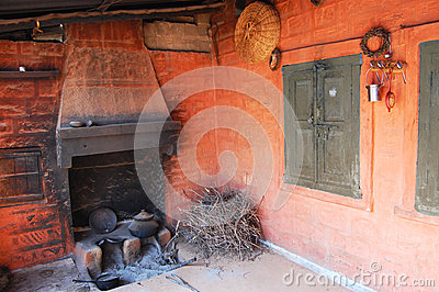 Stock images india traditional kitchen image 34973444 for Traditional indian kitchen pictures