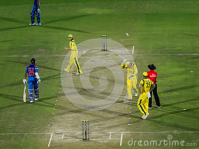 India versus Australia cricket Editorial Stock Photo