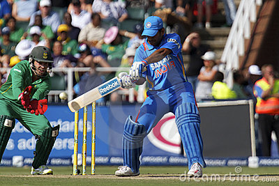 India vs SA Editorial Stock Image