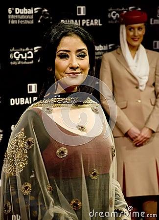 Indian Actress Manisha Koiralla Editorial Image