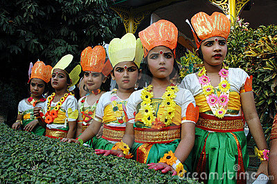 Indian Adolescents Dancer Editorial Stock Image