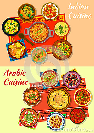 Free Indian And Arabic Cuisine Traditional Dishes Icon Royalty Free Stock Photo - 83567155