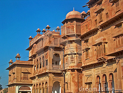Indian Architecture in Jodhpur