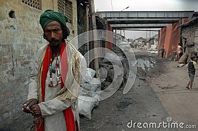 Indian Bagger Editorial Stock Photo