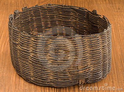 Indian basket artifact, Native American Guatamala
