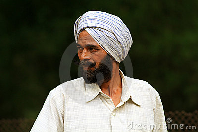 Indian beard man