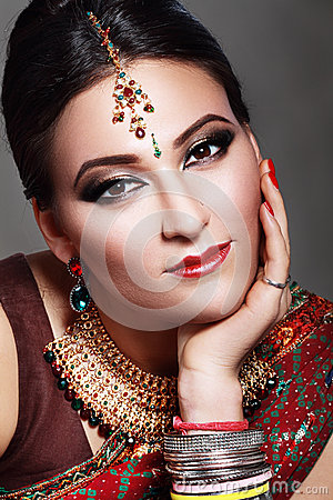Free Indian Beauty Face Stock Images - 36785104