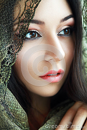 Free Indian Beauty Face Royalty Free Stock Photos - 37348658