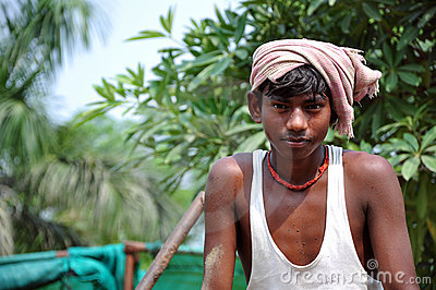 Indian bihari boy