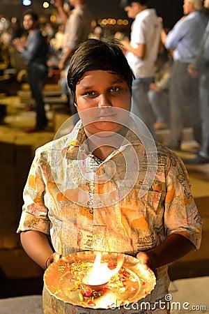 Indian Boy Portrait Editorial Photo