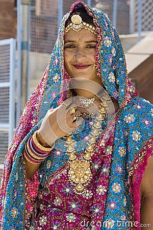 Indian Bride - Varanasi - India Editorial Photography