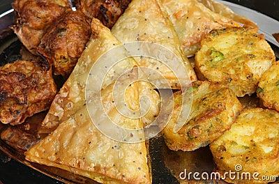 Indian Buffet Food