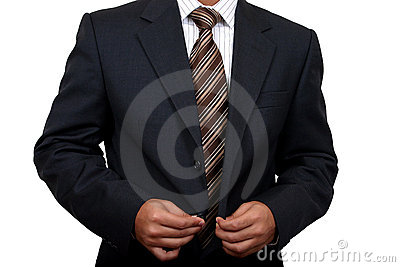 Indian Business man getting ready to go to office (1)
