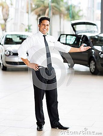indian car salesman stock photo image 39096681. Black Bedroom Furniture Sets. Home Design Ideas