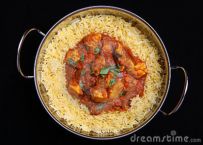 Indian Chicken Curry & Rice