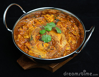 Indian Chicken Rangoon Curry Food