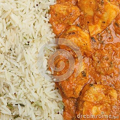 Indian Chicken Tikka Masala Curry