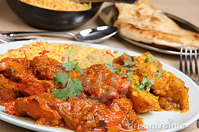 Indian Chicken Vindaloo Curry
