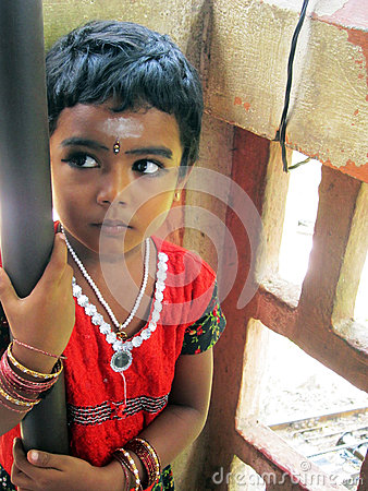 Indian child Editorial Stock Photo