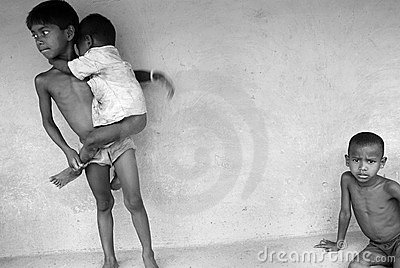 Indian children. Editorial Photography