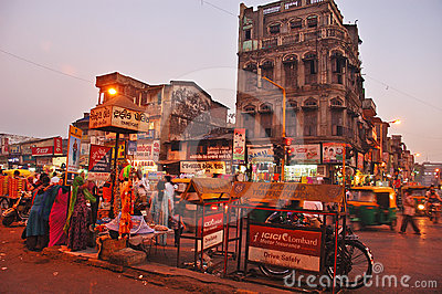 Indian City Editorial Photography