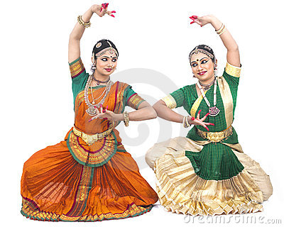 Indian Classical Female Dancers Stock Photo - Image: 7384420