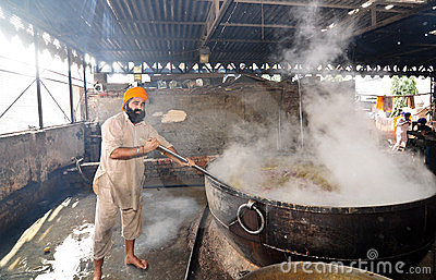 Indian cook Editorial Photography