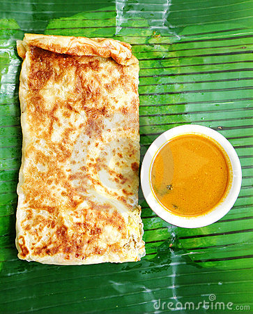 Indian cooking Murtabak ethnic food