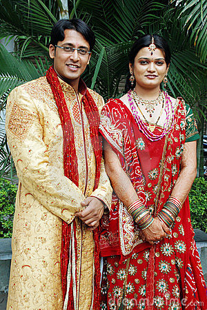 Free Indian Couple Stock Photography - 14444642