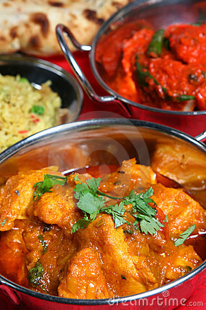 Free Indian Cuisine Royalty Free Stock Image - 4256636
