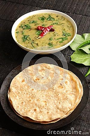 Free Indian Cuisine- Dal Palak Dish Royalty Free Stock Image - 82219506