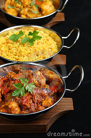 Free Indian Curry Meal Stock Photo - 10341330