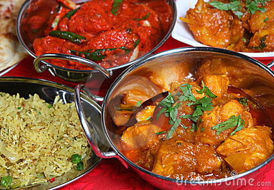 Indian Curry Meal Food