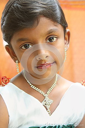 Indian  Cute Little Girl