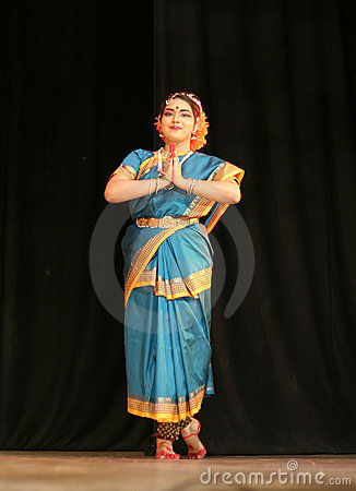 Indian dance Editorial Photo