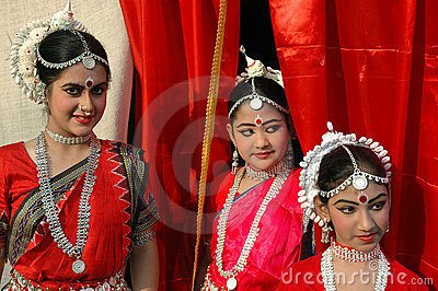 Indian Dancer Editorial Stock Image