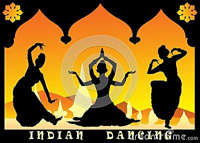 Indian dancing