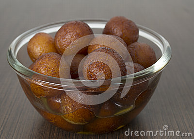 Indian delicacy sweet served in a bowl