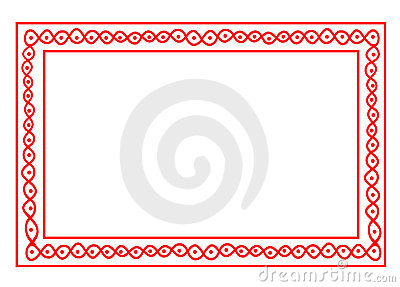 Indian design border frame
