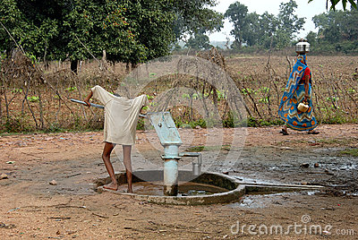 Indian Drinking Water Editorial Stock Photo