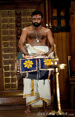 Indian drummer Editorial Image