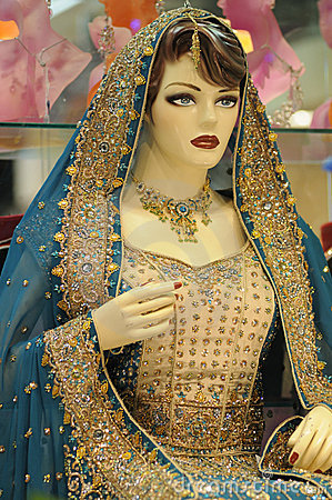 Indian Female Mannequin.