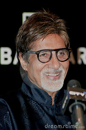 Free Indian Film Icon Amitabh Bachchan Stock Image - 12114341