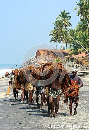 Free Indian Fisherman Royalty Free Stock Images - 24128989