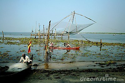 Indian fishermen Editorial Stock Photo